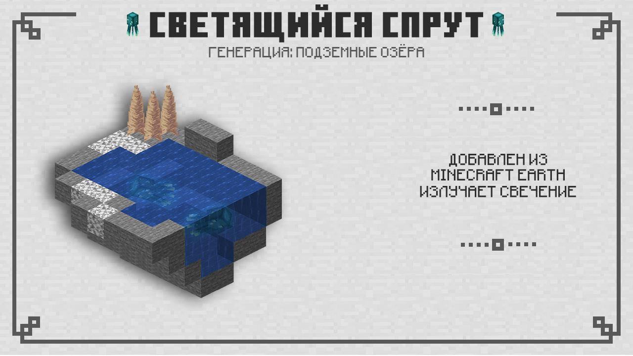 Светящийся спрут в Майнкрафт 1.16.210