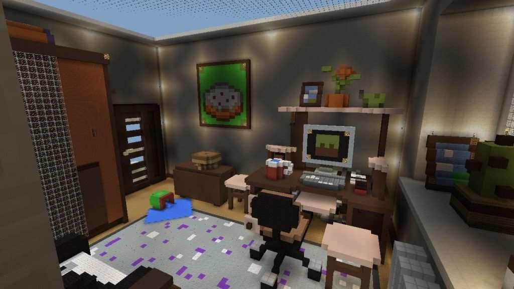 Обзор карты (прятки) в minecraft pe youtube.