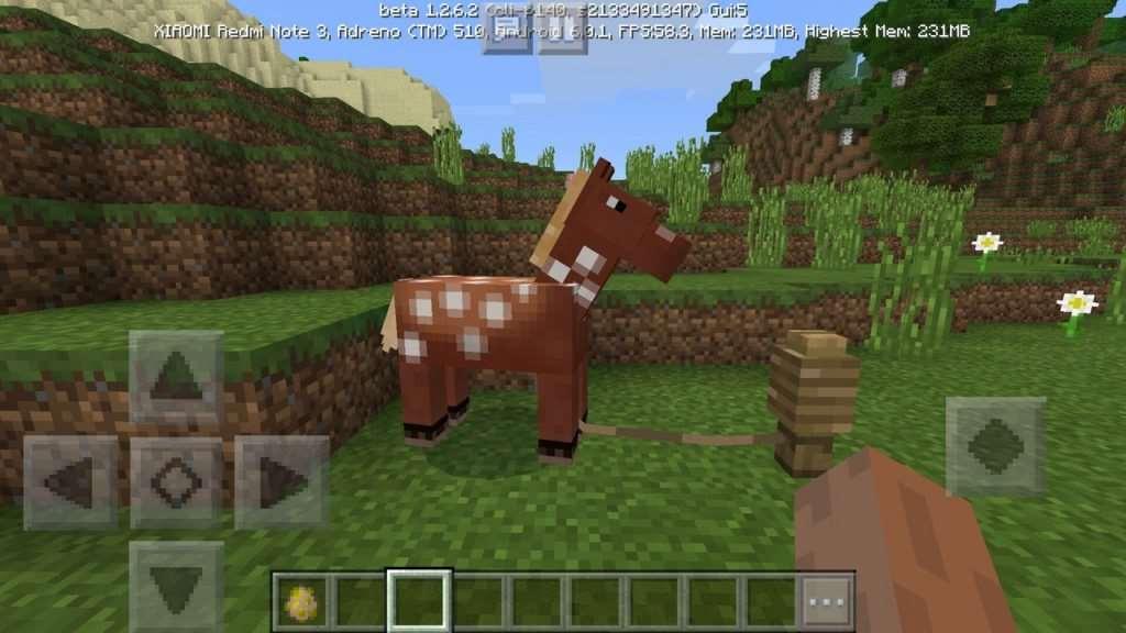 лошадь в майнкрафт 1.2.6